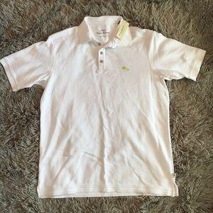 Tommy Bahama white polo